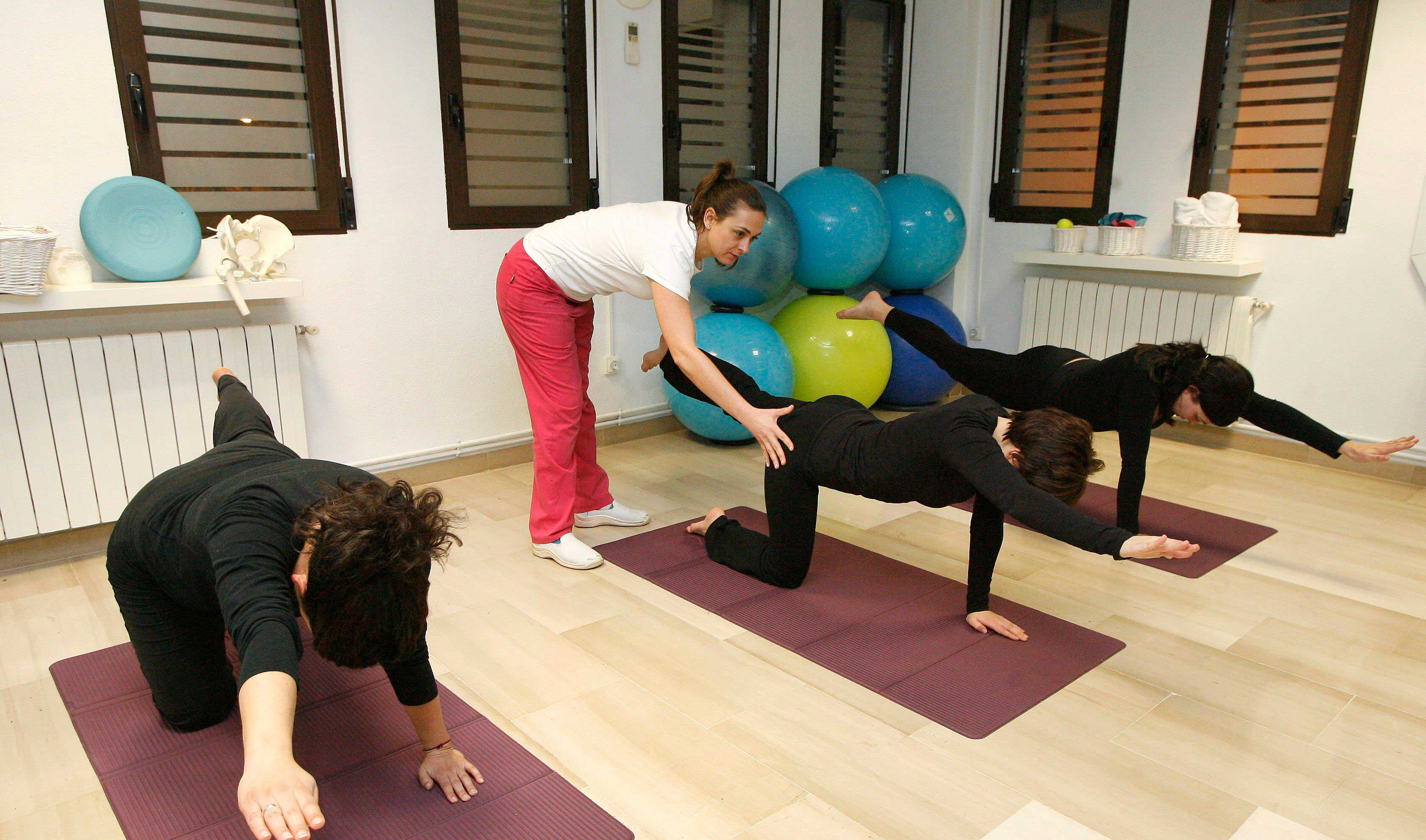 pilates Susana Sánchez Centro de Fisioterapia